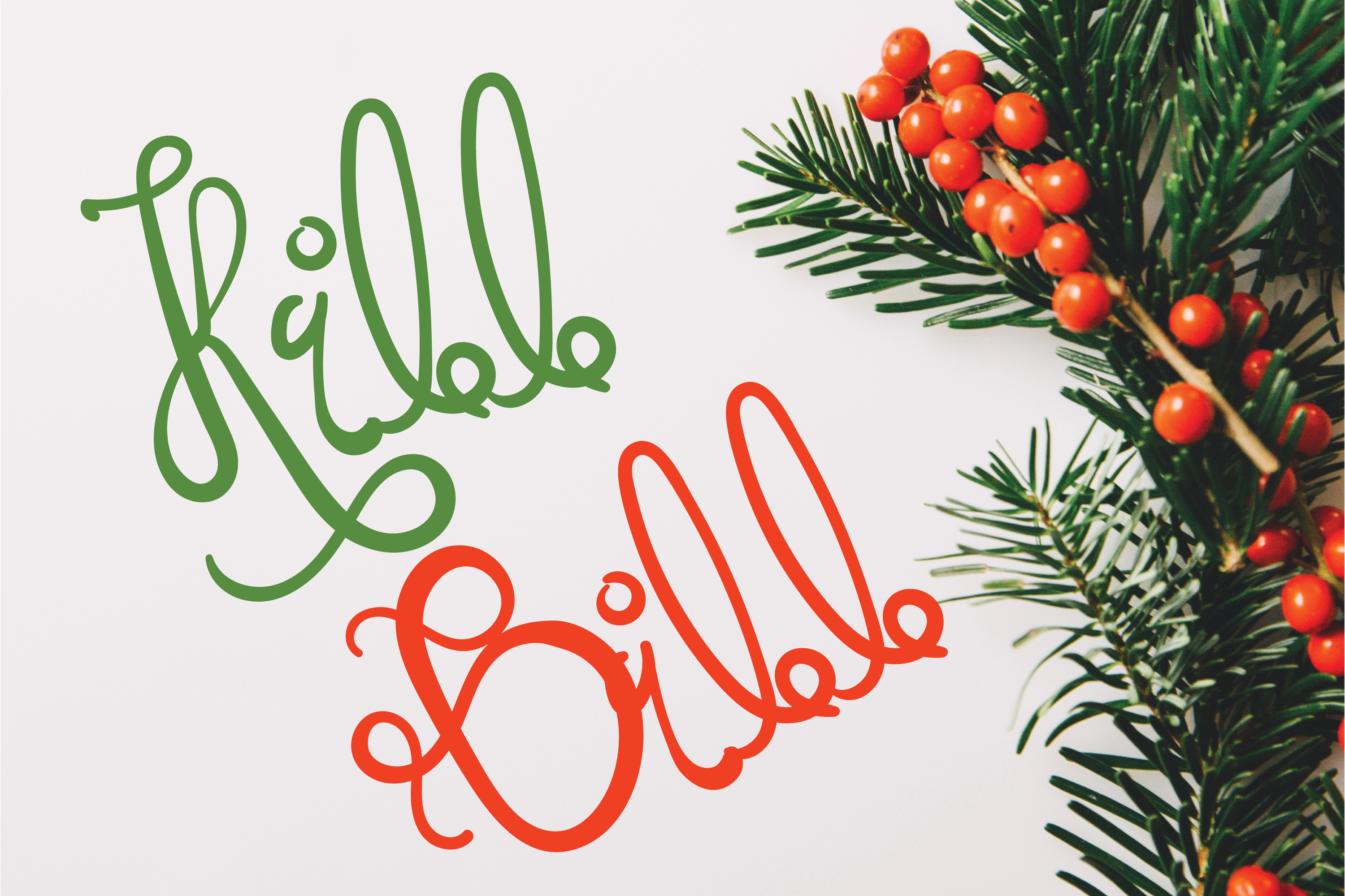 Super Holidays - A Fun Curly Font example image 2