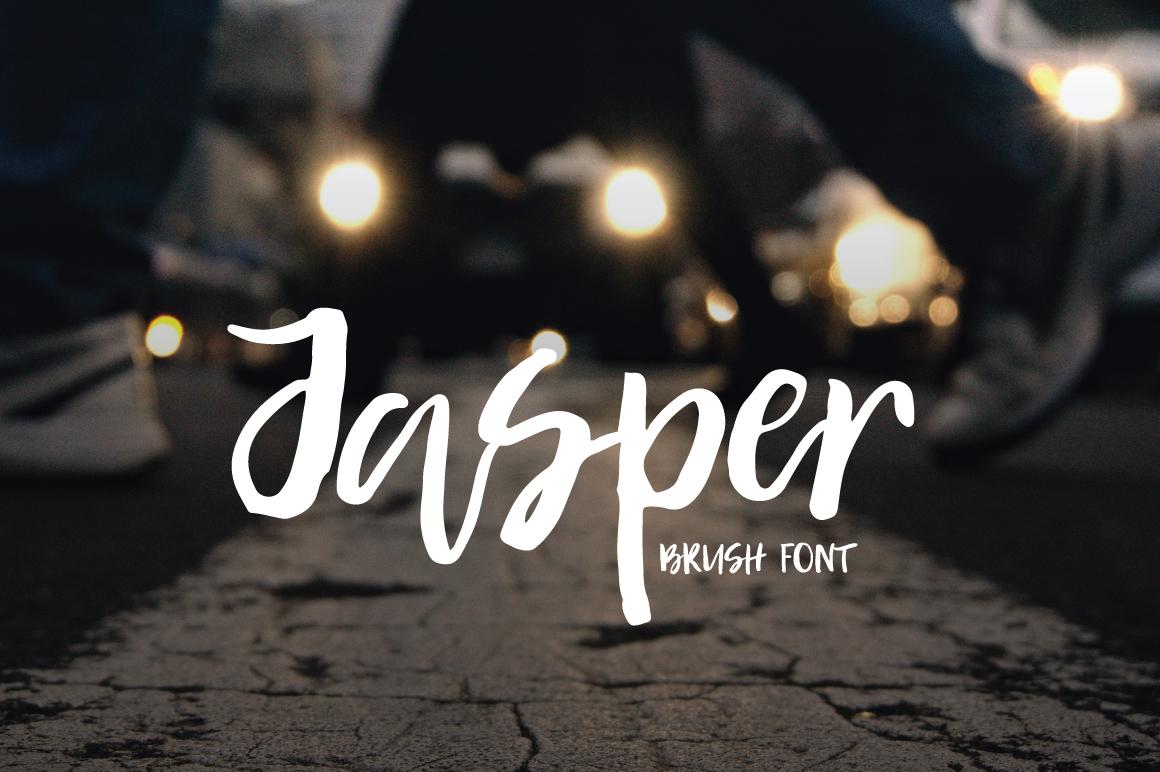 Jasper | Brush Font example image 1