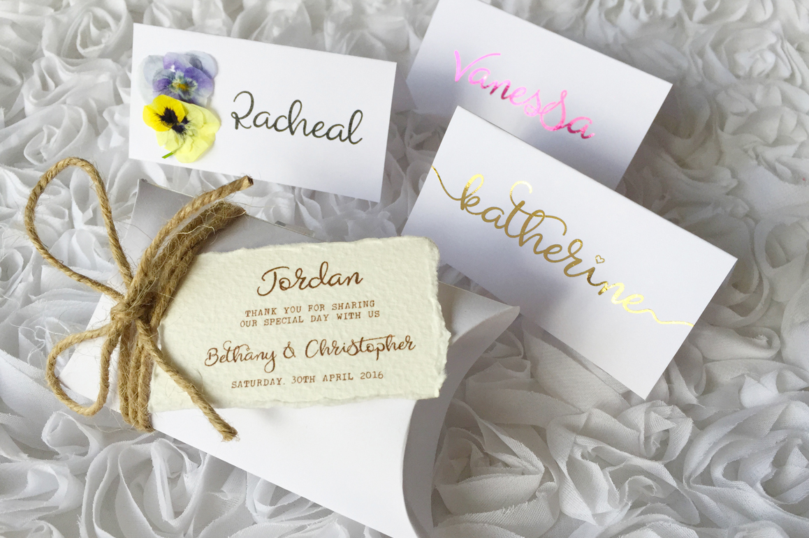 Heavenfield wedding font duo example image 2