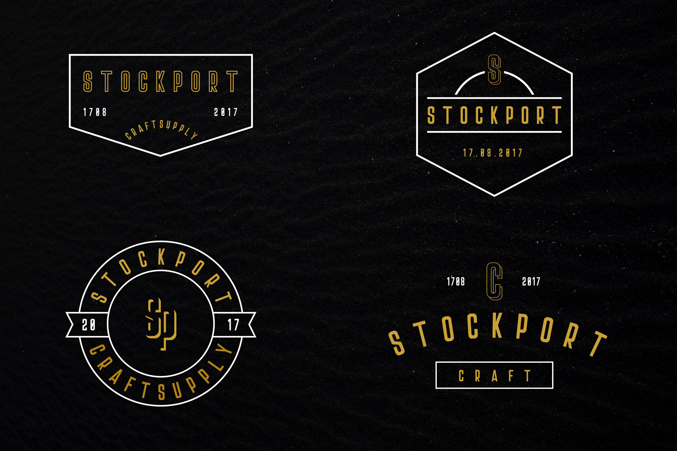 Stockport Font + Bonus Logo example 8