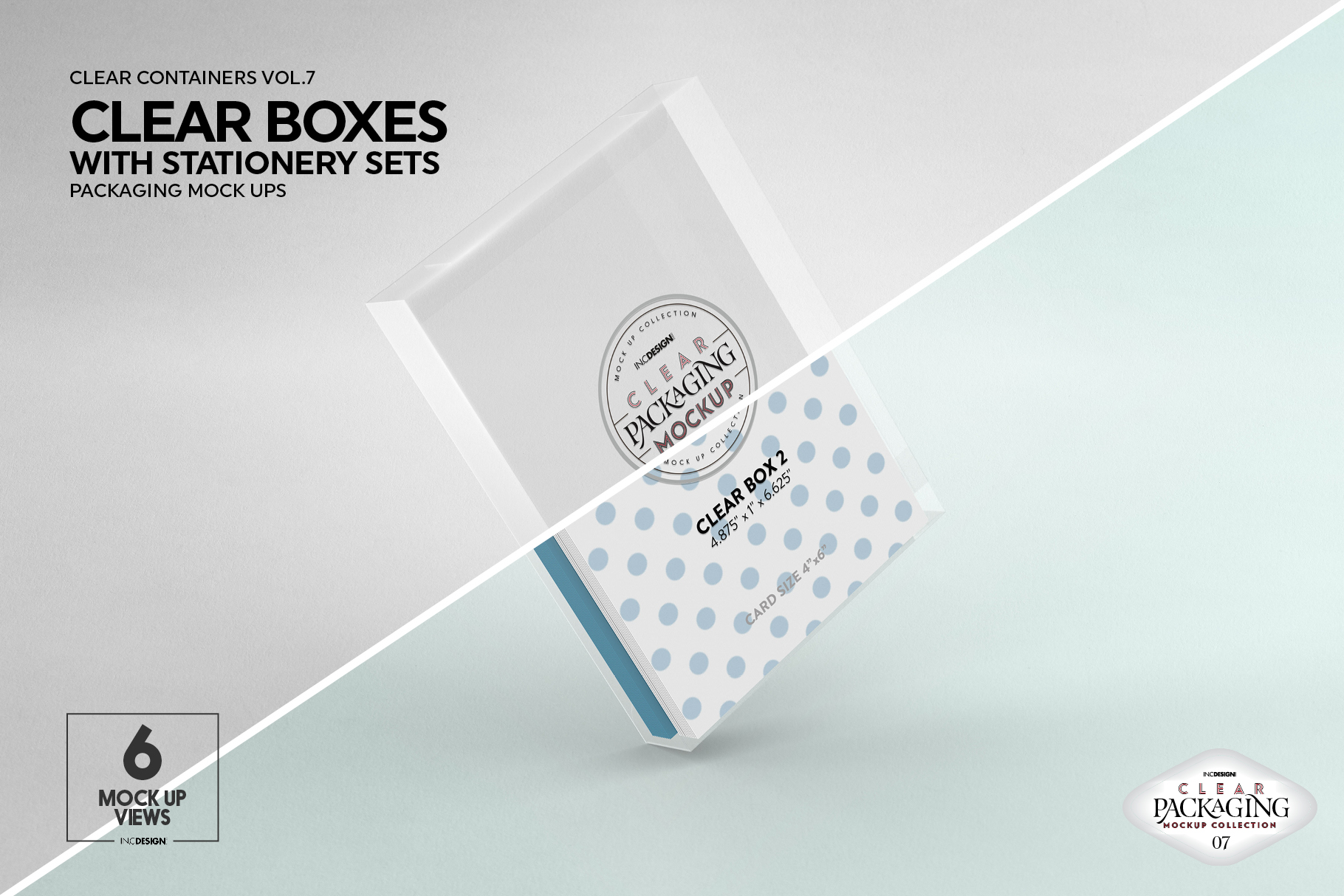 VOL.7 Clear Packaging Mockup Collection example image 14