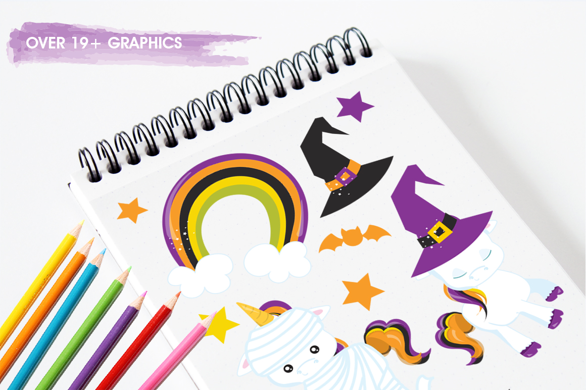 Unicorn graphic and illustrations example image 3