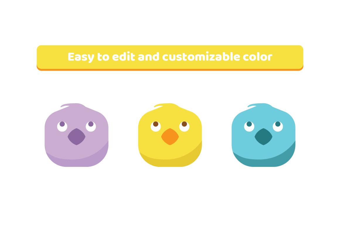 Chicken Cute Emojis example image 2