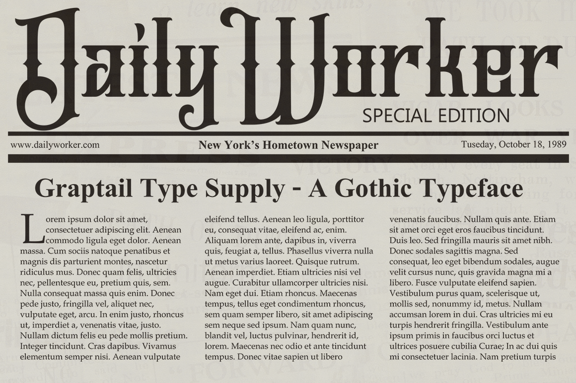 Jailetter Typeface example image 8