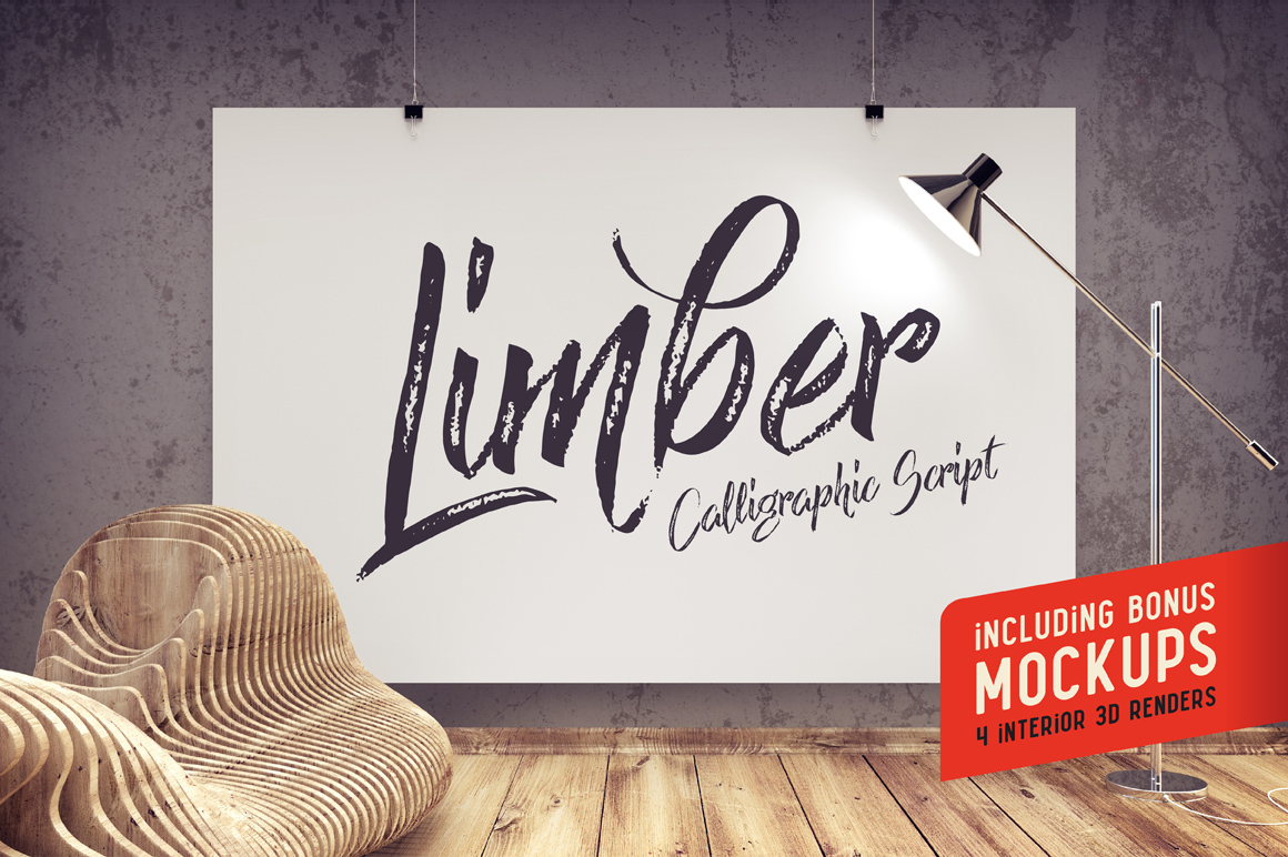 Limber script & Mockups example image 1