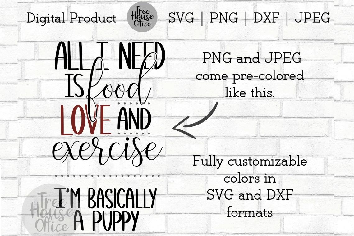 Funny Puppy Dog Svg, Sarcastic Saying, Dog Mom PNG JPEG DXF example image 3