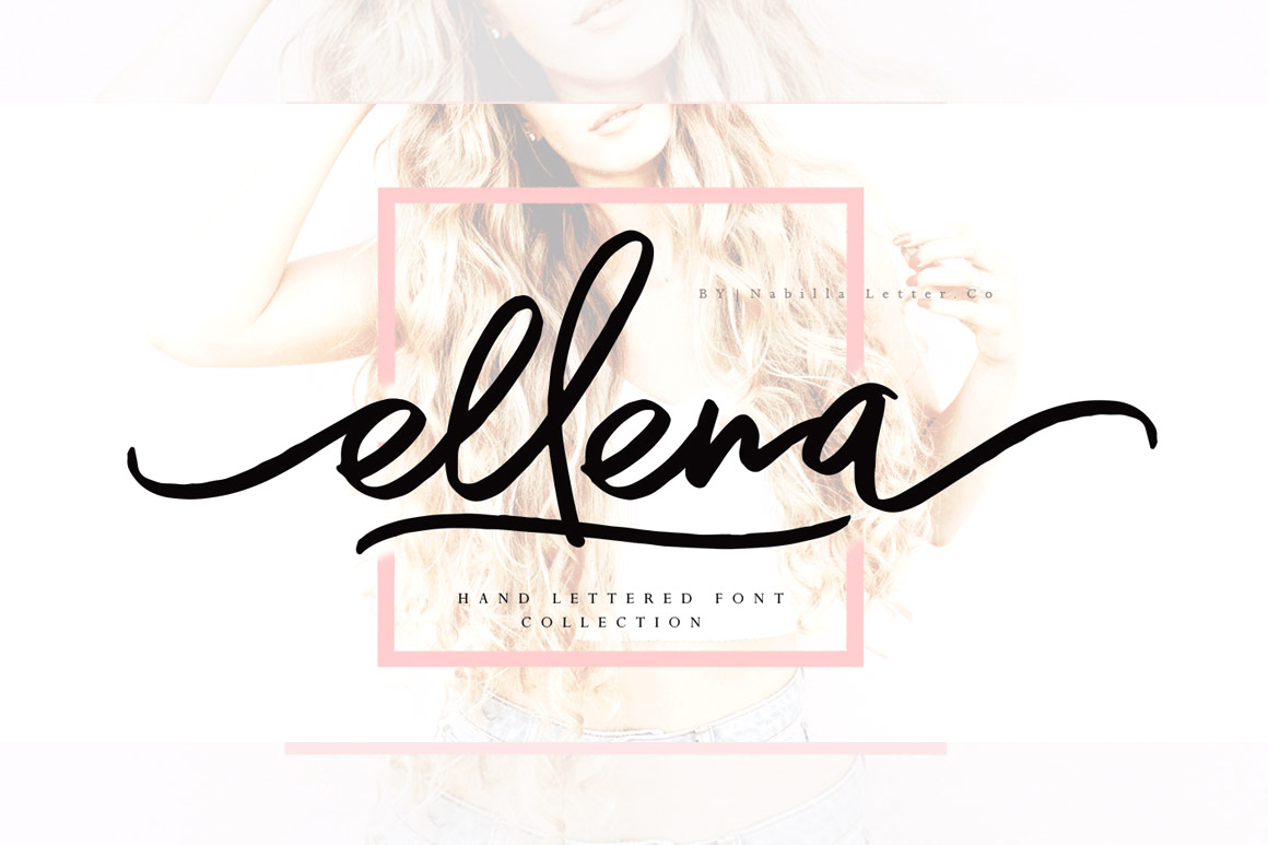 Ellena Script example image 1