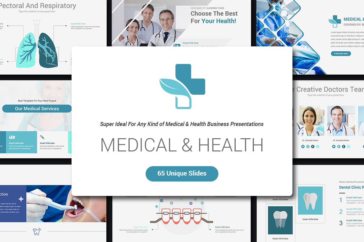 Medical & Health Keynote Template example image 2