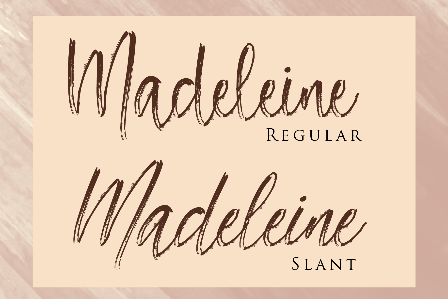 Madeleine - Brush Script Font example image 2
