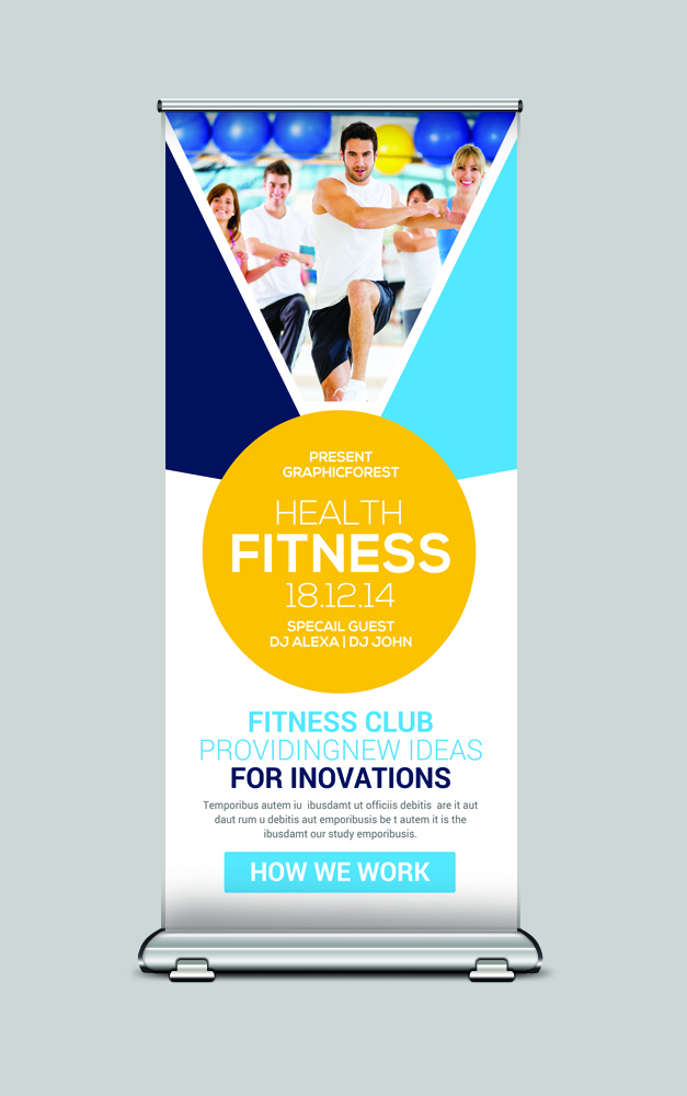 Rollup Banner Psd example image 2