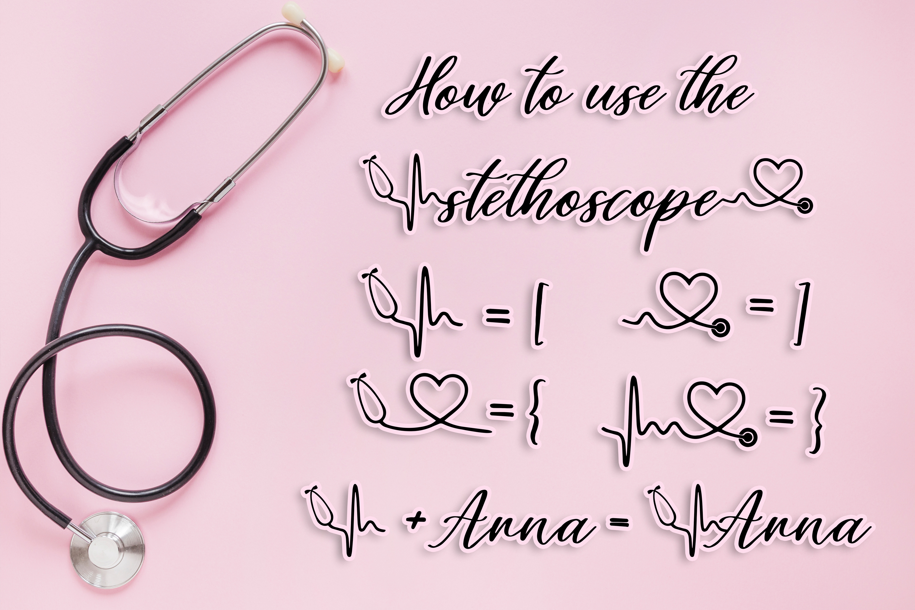 Healers - A script font to celebrate our nurses and doctors example image 4