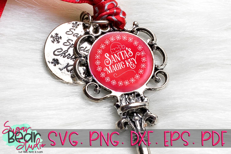 Santa's Magic Key - A Christmas SVG example image 2