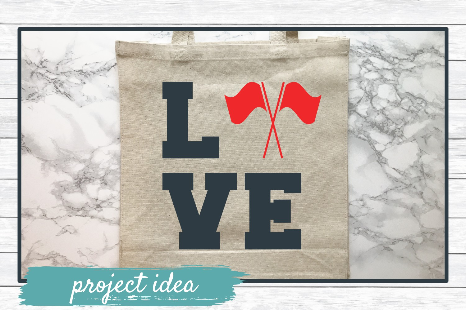 Color Guard Love, SVG Cut File for Crafters example image 2