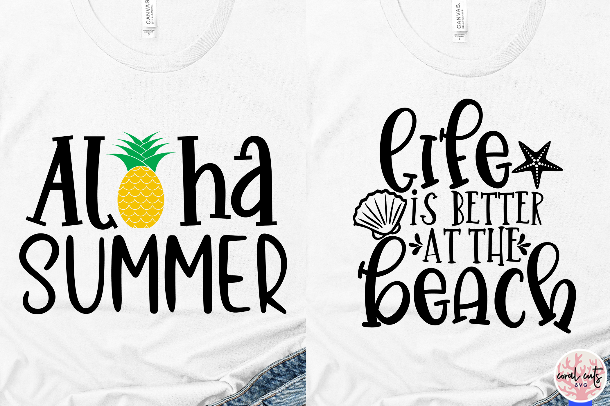 Summer Beach Bundles - 9 Svg EPS DXF PNG Cut File example image 3