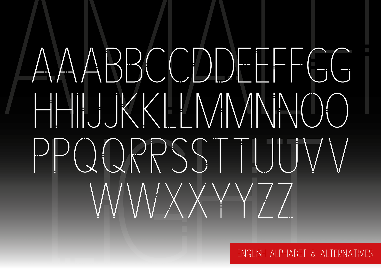 AMALFI - A Modern Font Family example image 11