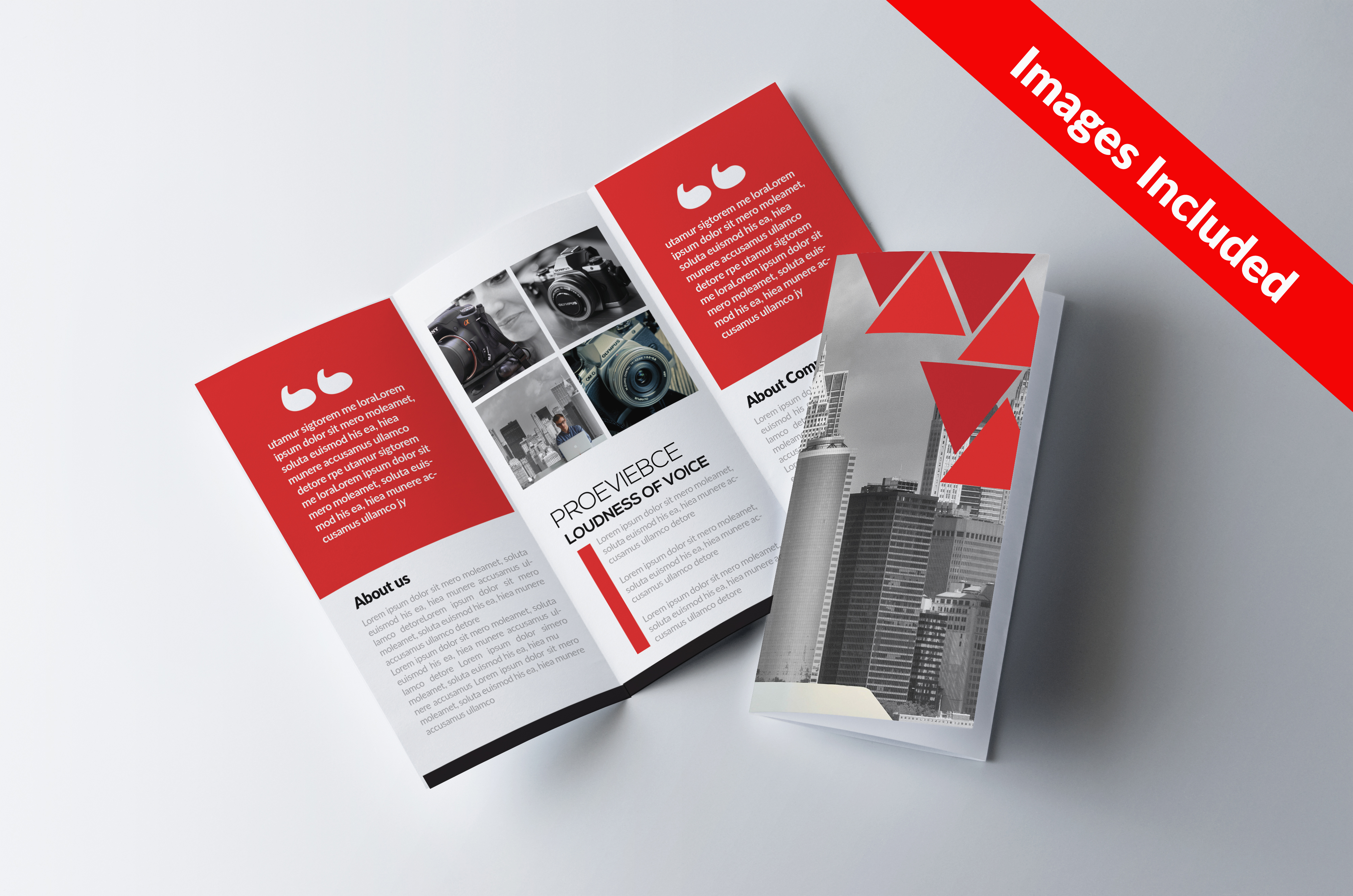 Trifolds Brochures Print Templates example image 1