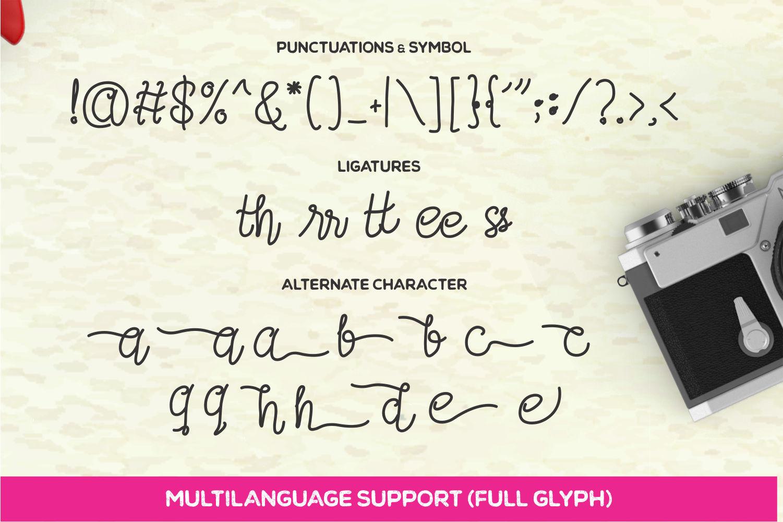 Afifah Script example image 4