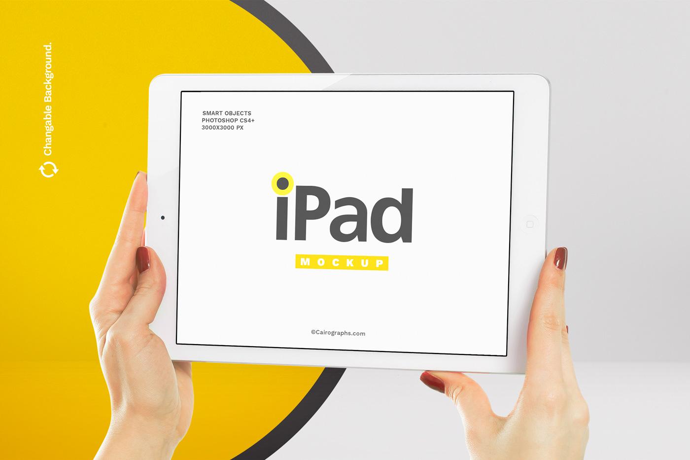 iPads Mockups example image 1