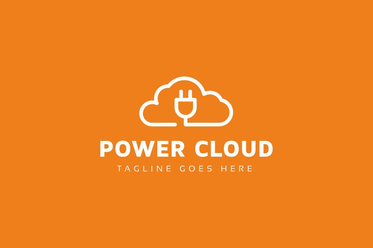Power Cloud Logo example image 2