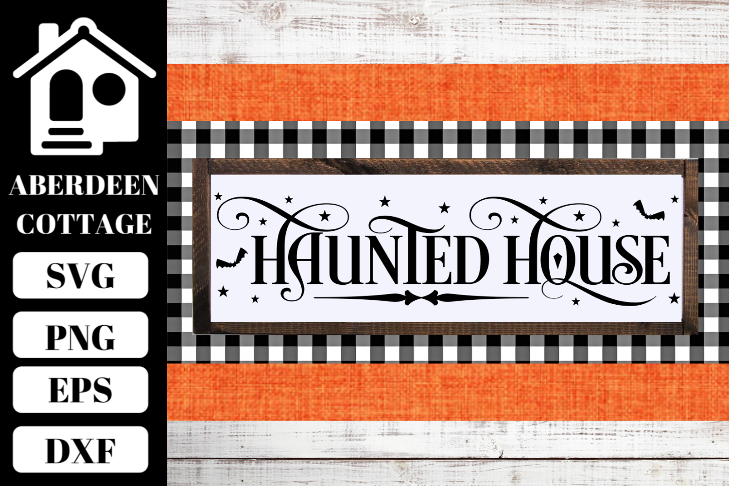 Haunted House SVG example image 1