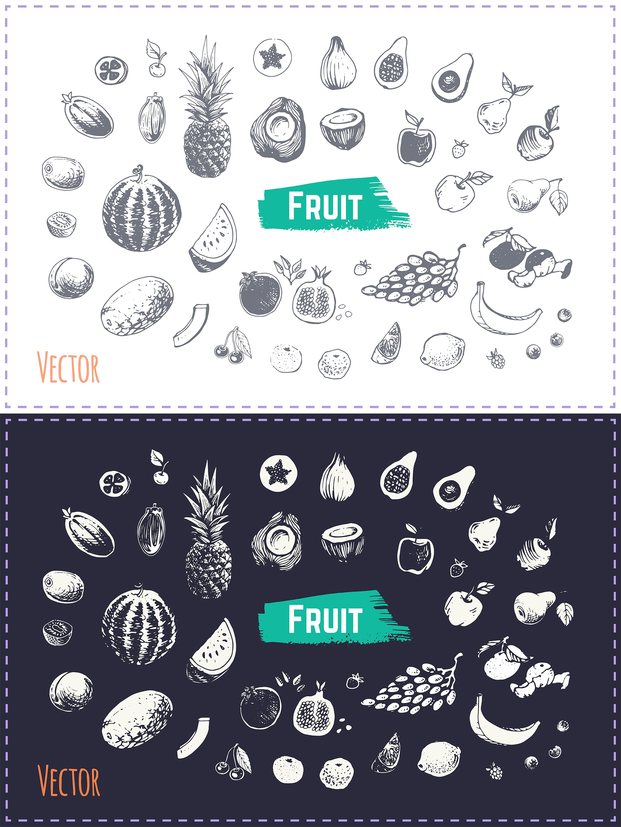 Hand drawn cooking and food icons example image 21