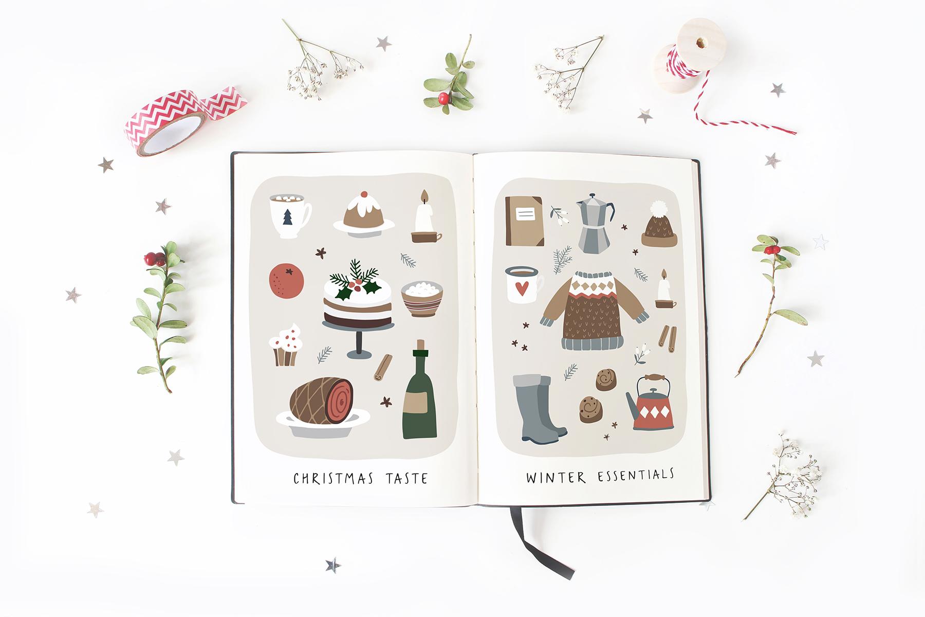 Charming Christmas card & map creator example image 13