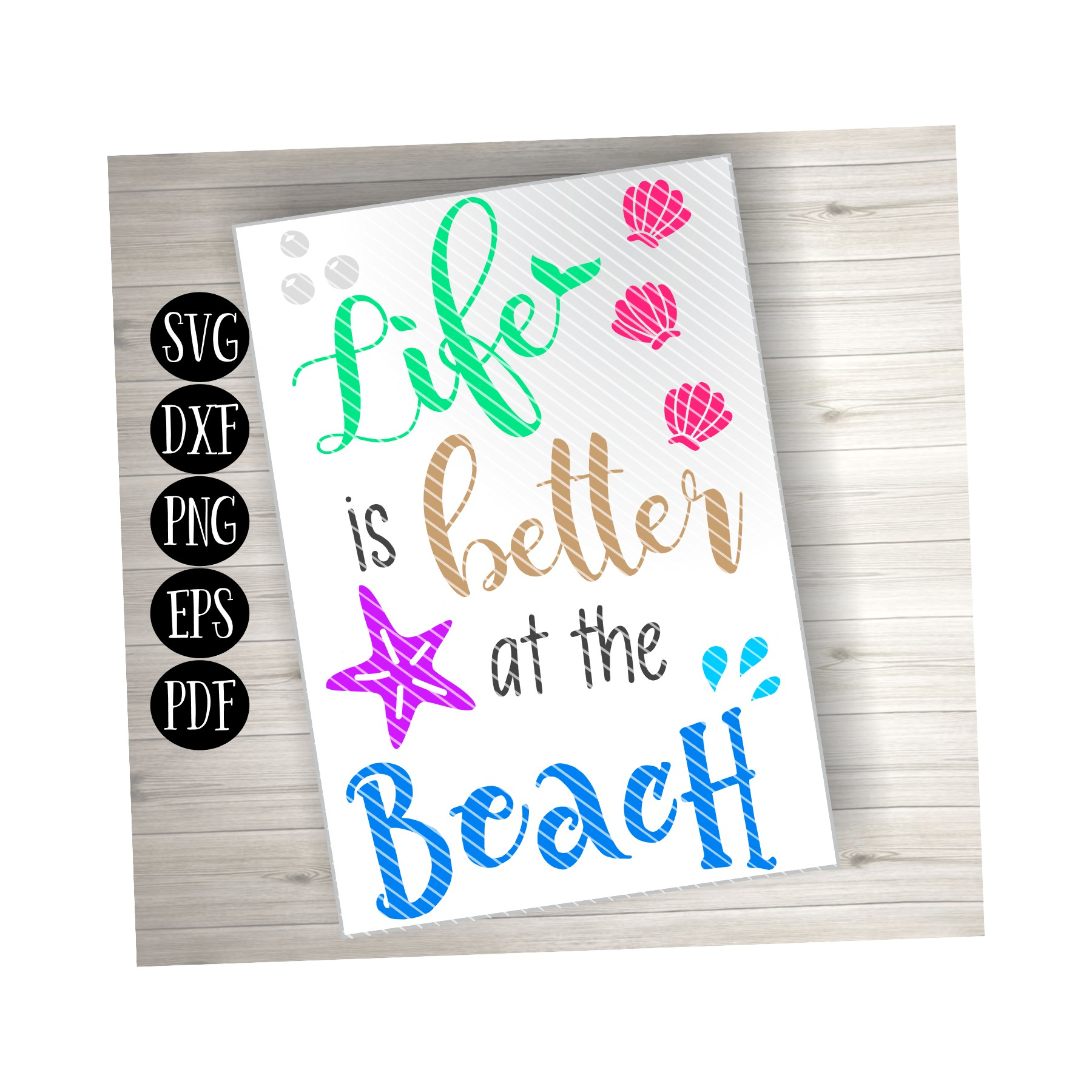 Life is Better at the Beach example image 2