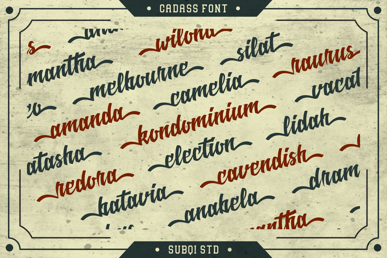 Cadass Font Duo 70% OFF example image 3