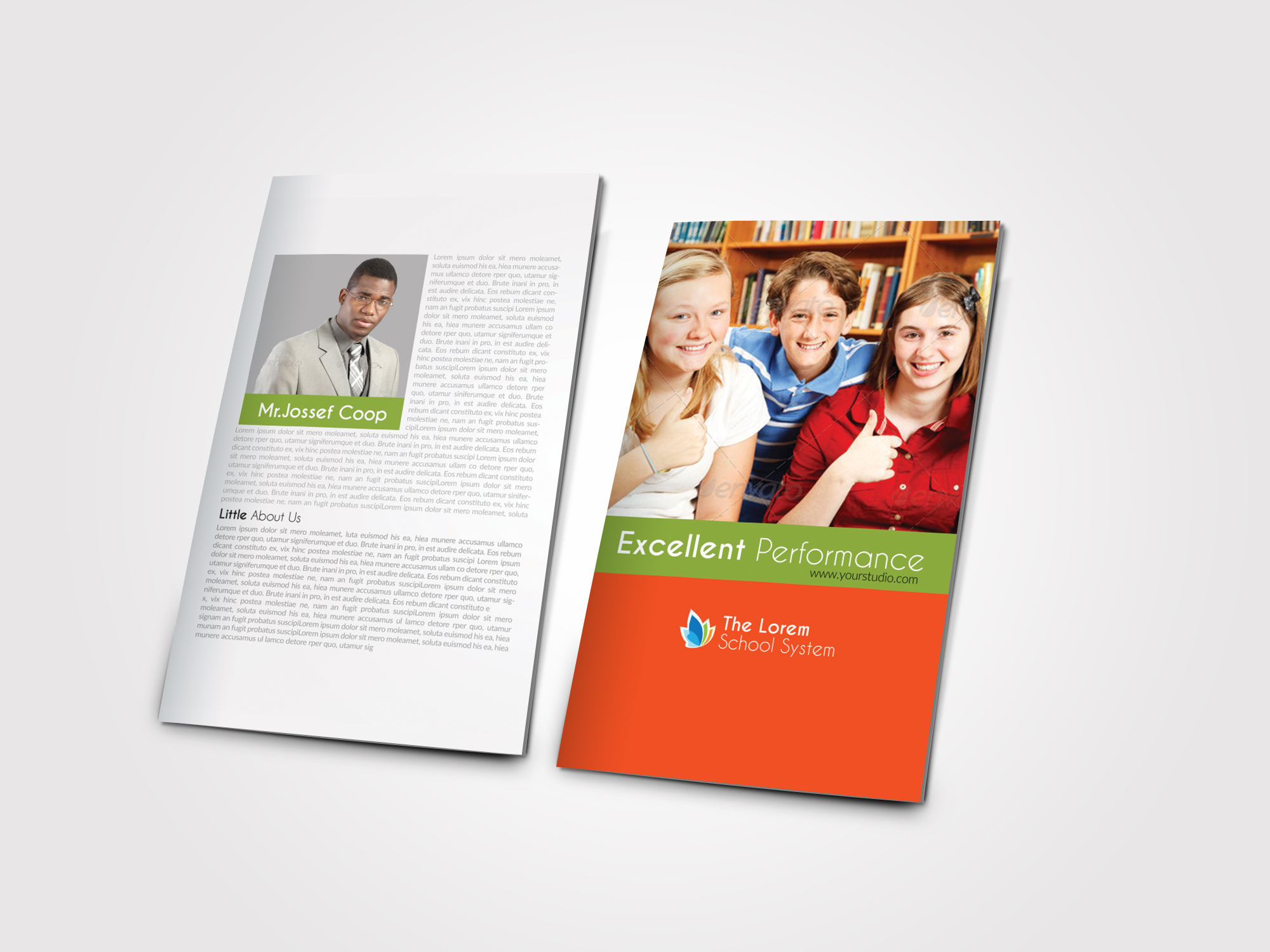 Education Bifold Brochure  example image 4