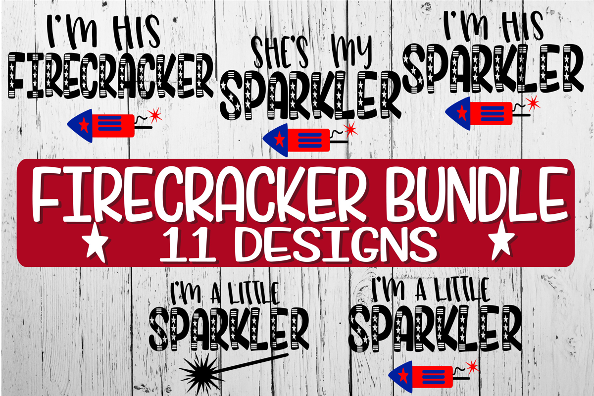Firecracker Bundle - 11 Designs Included! example image 2