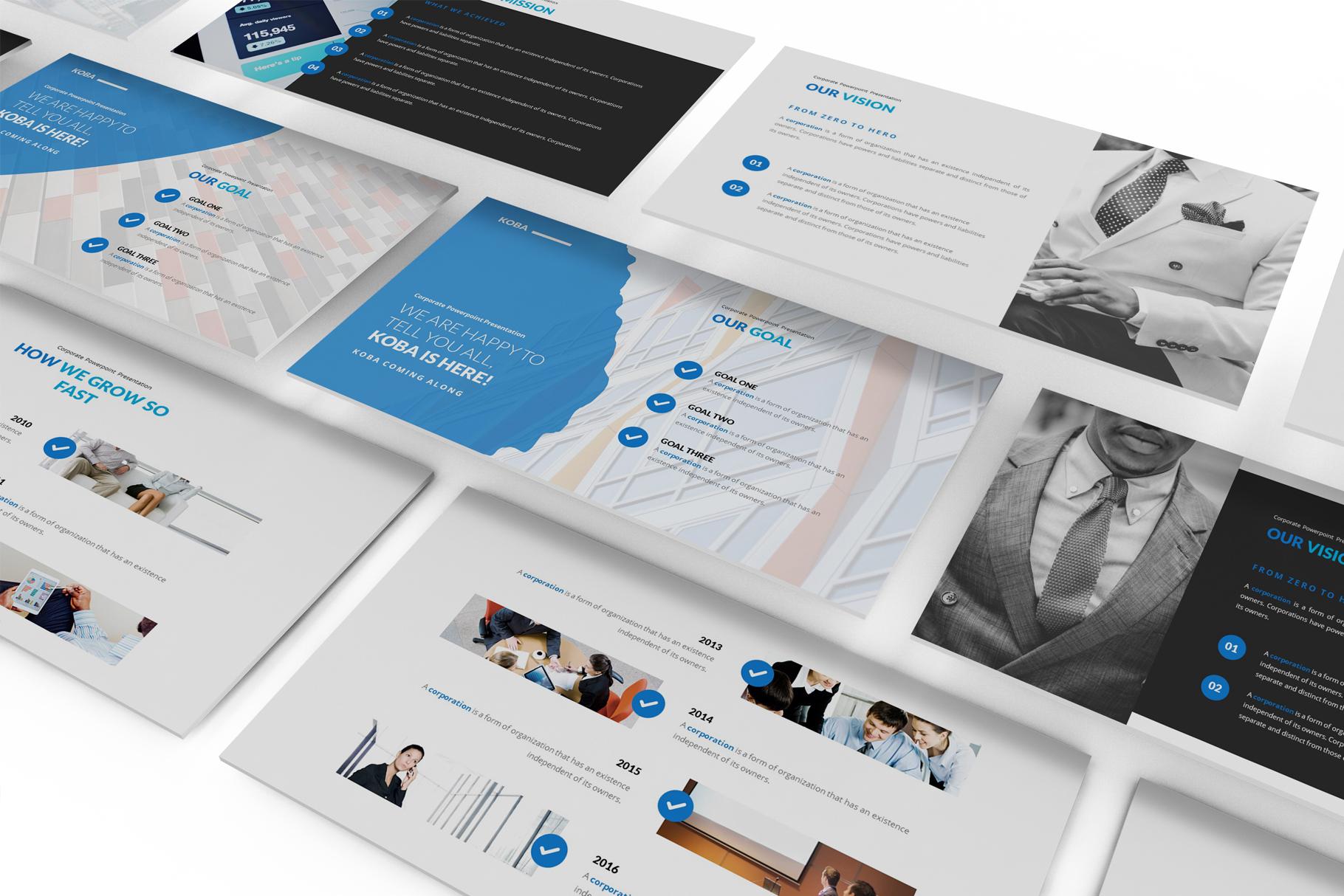 Koba Google Slides Presentation example image 3
