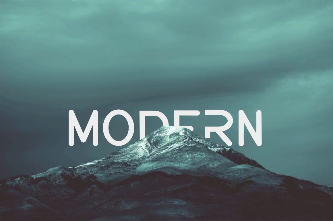 AERODI - Modern Sans Serif example image 4