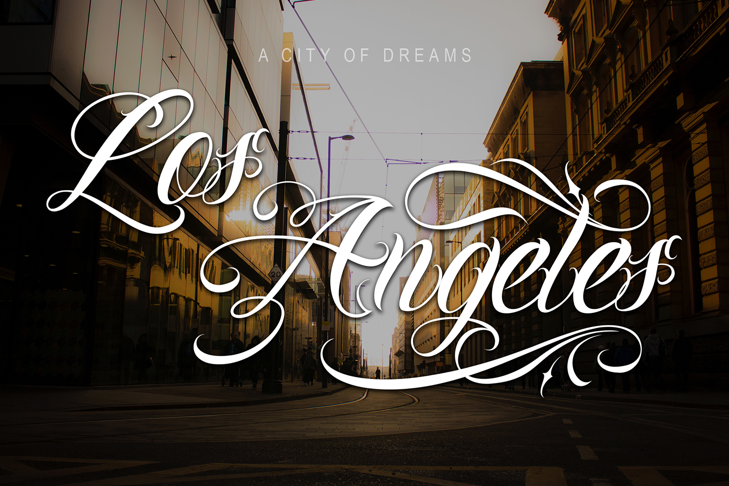 Chicano Font | Tattoo Style example image 3