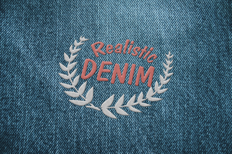 15 Denim Jean Fabric Textures JPG example image 1