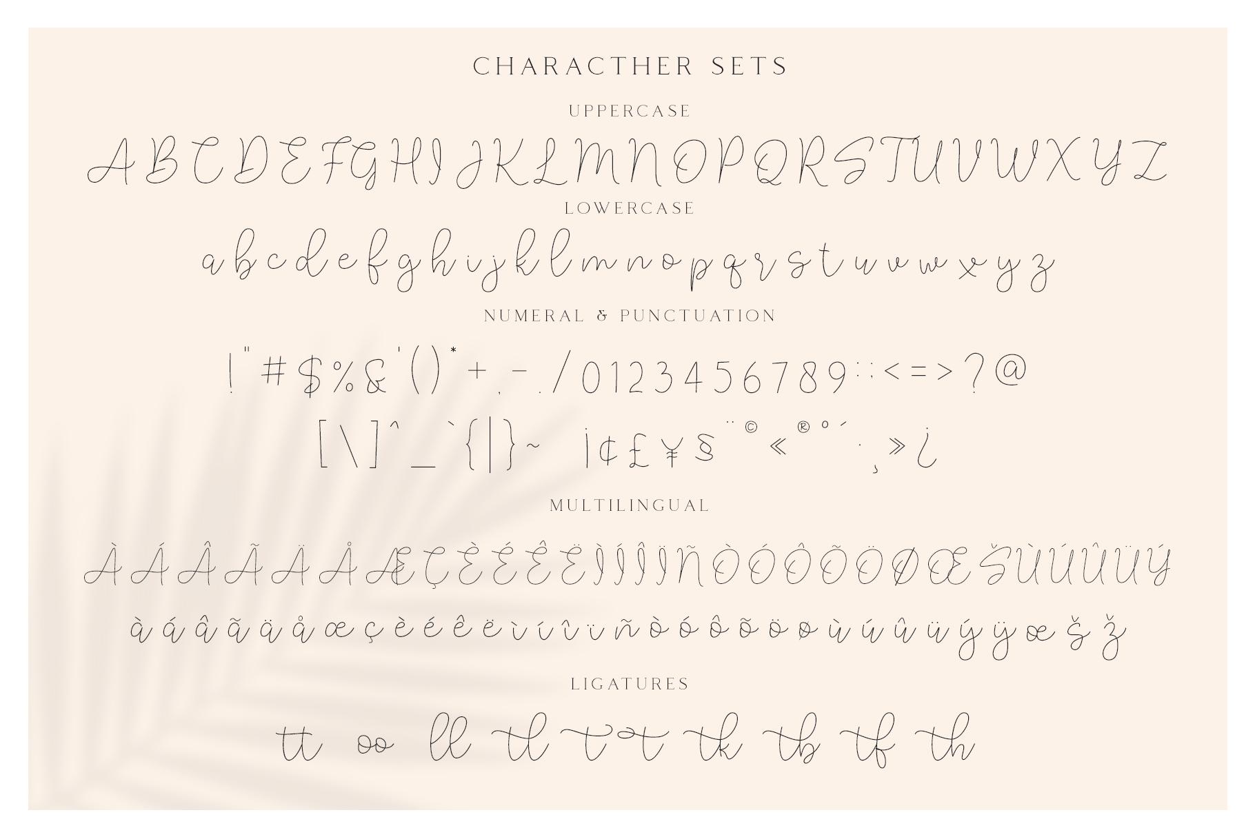 Lucylane - Signature Typeface example image 7
