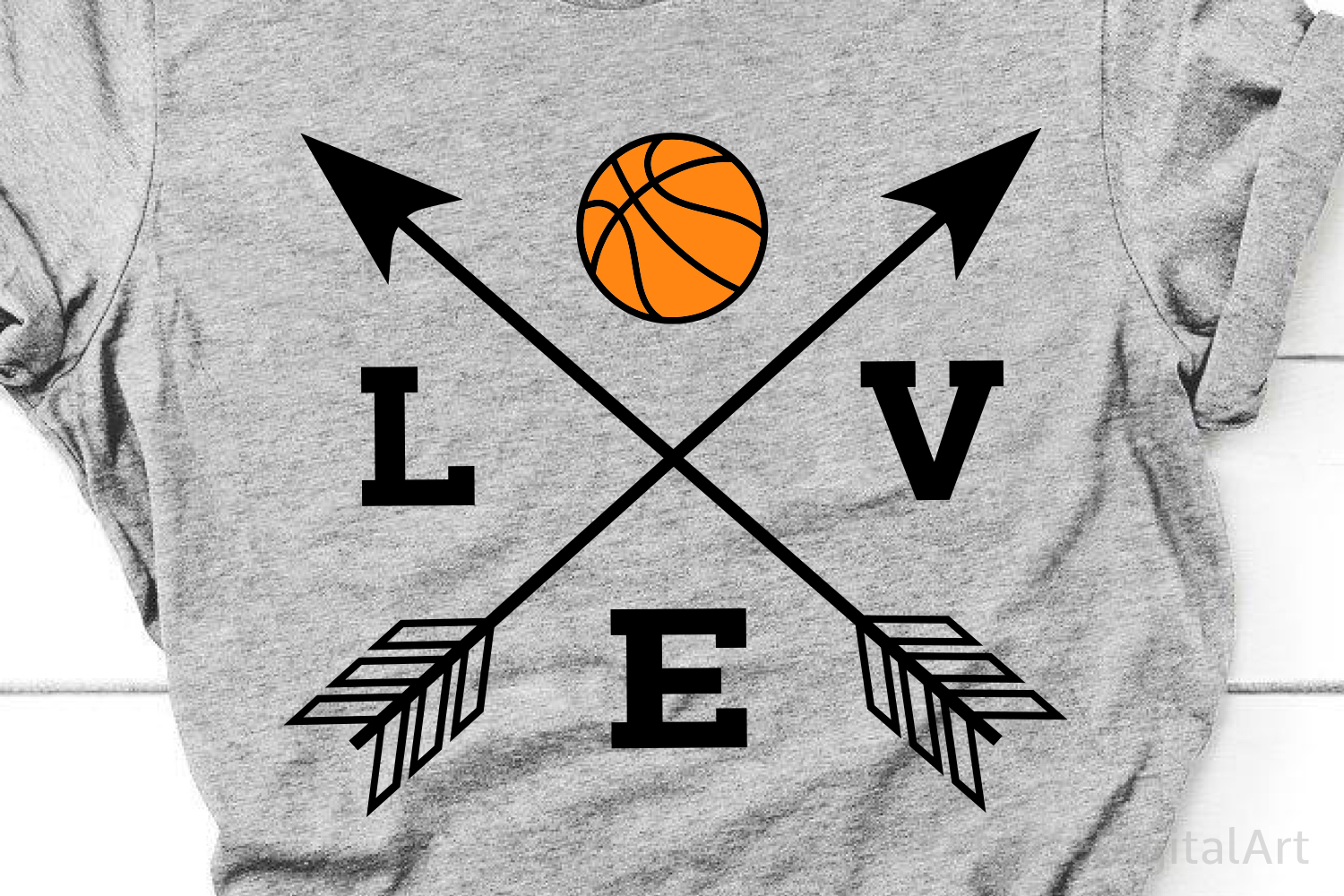 Love Basketball Svg, Basketball Svg, Love Basketball Svg Png example image 1