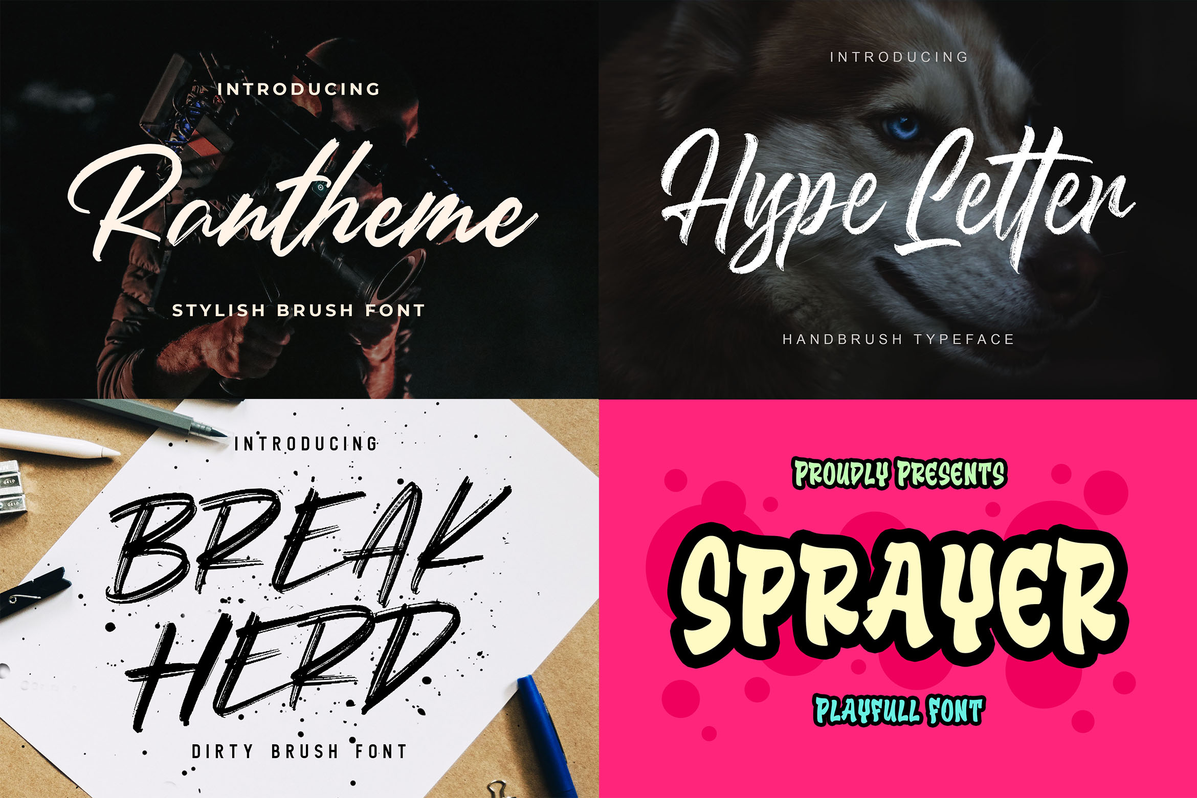 New Year Big Bundle - Crafting Fonts Collection example image 19