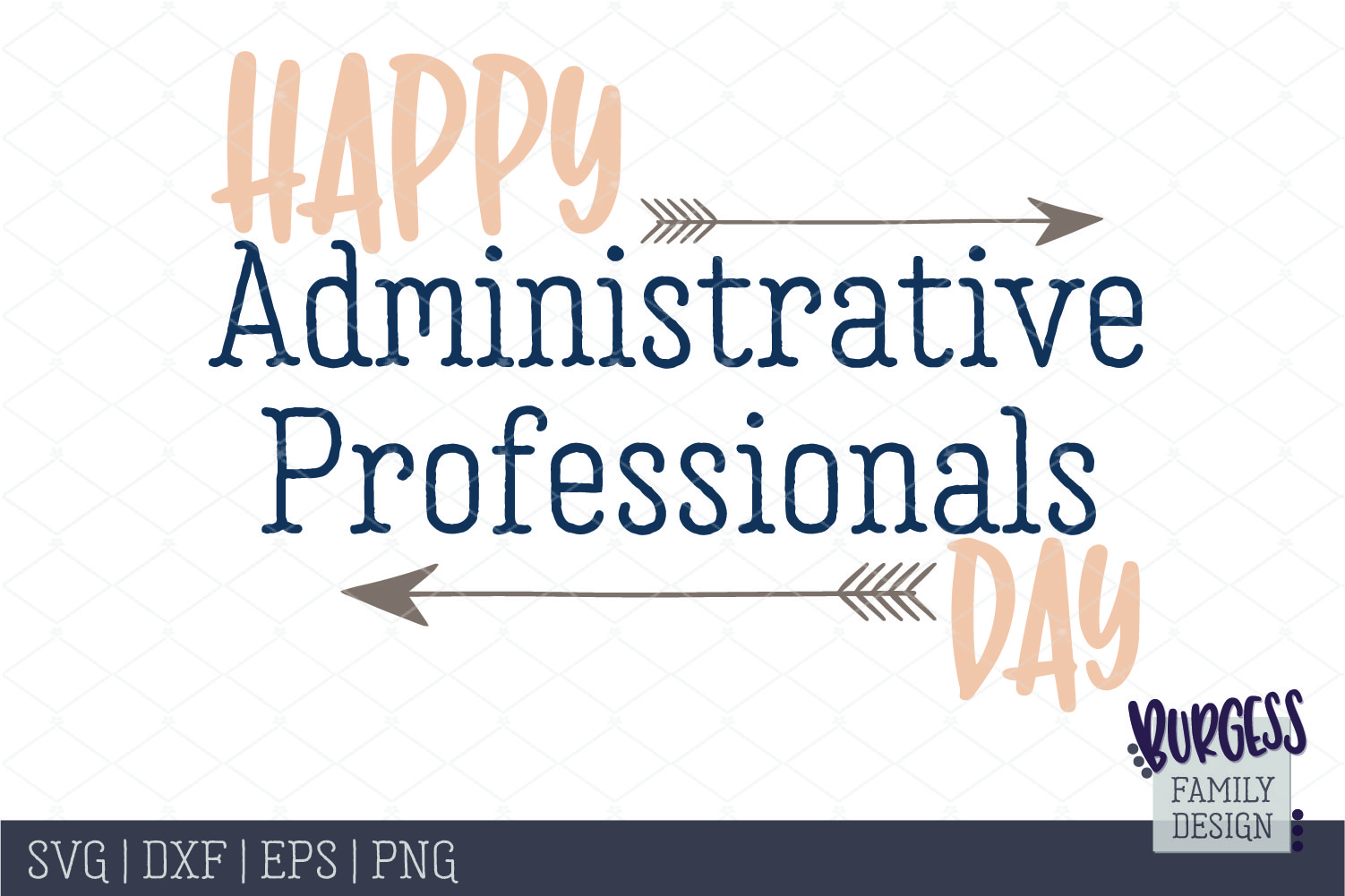 Happy Administrative Professionals Day   SVG DXF EPS PNG example image 2