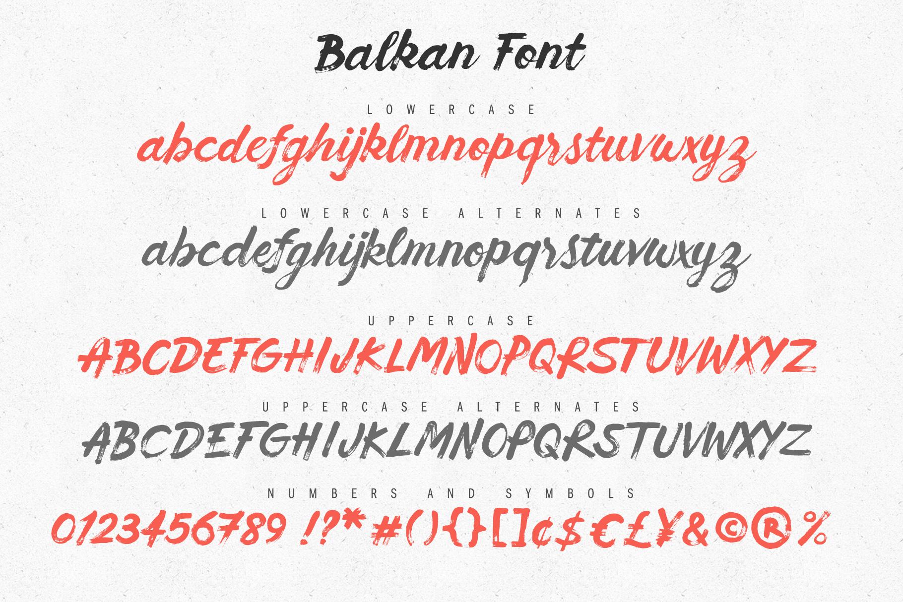 Balkan Font example image 7