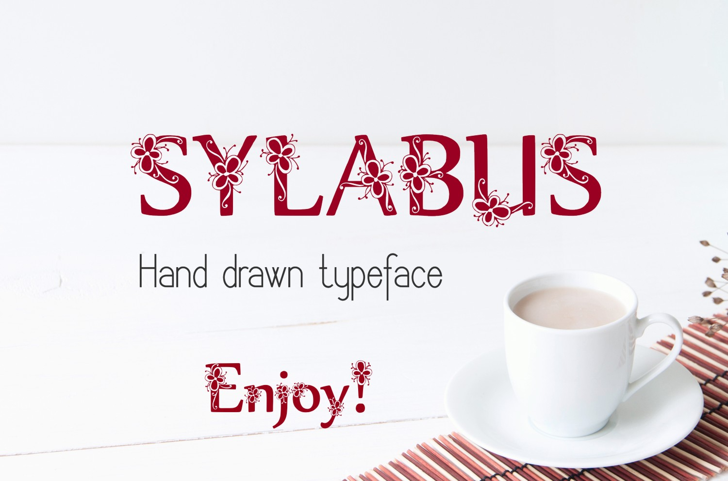 Sylabus font example image 2
