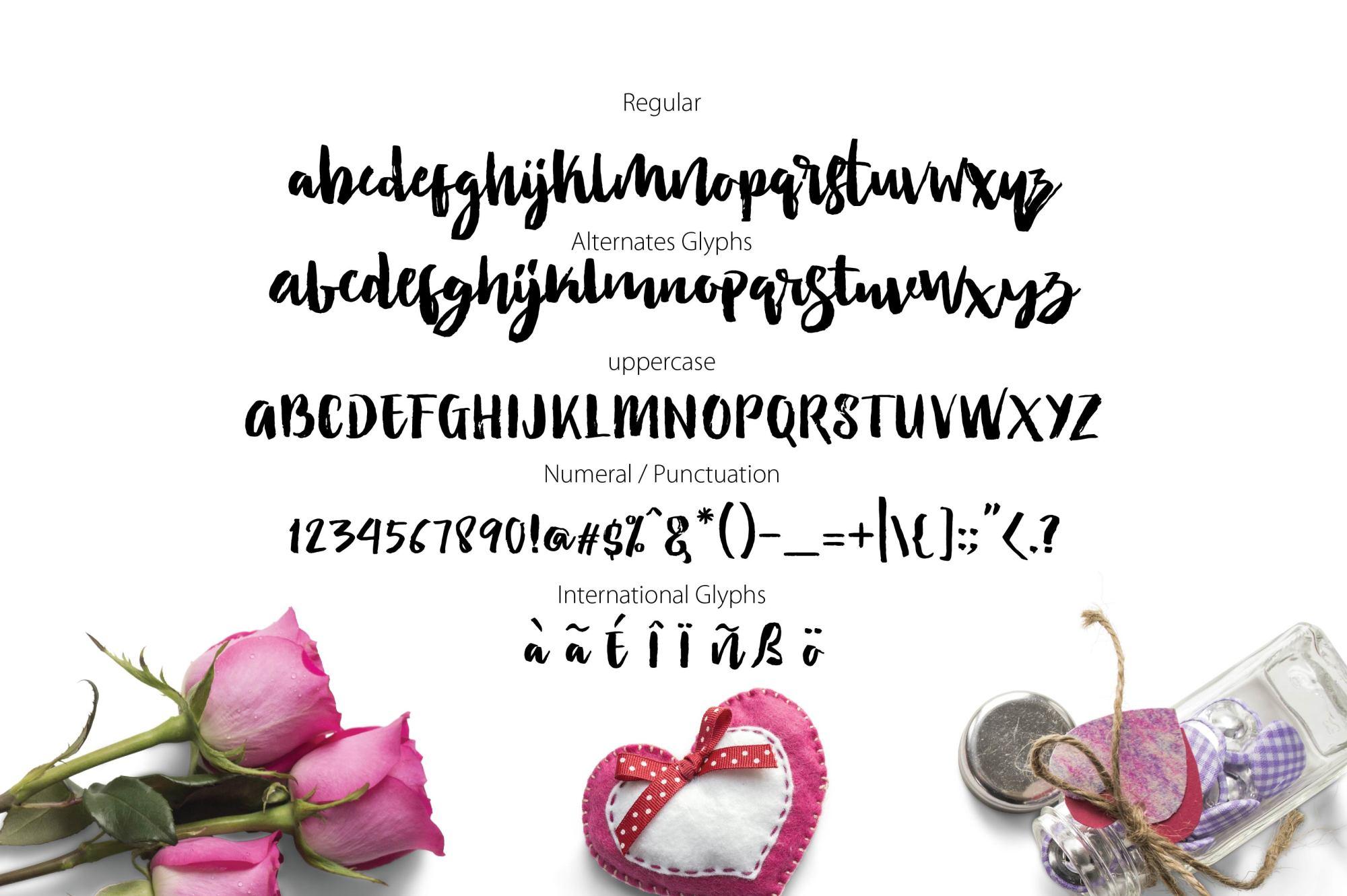 LOVETIME Script family example image 5