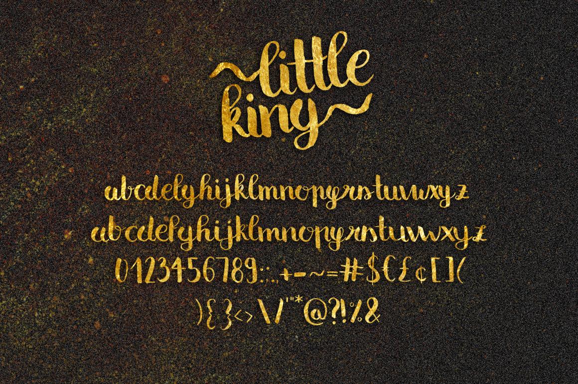 Little King Script example image 2