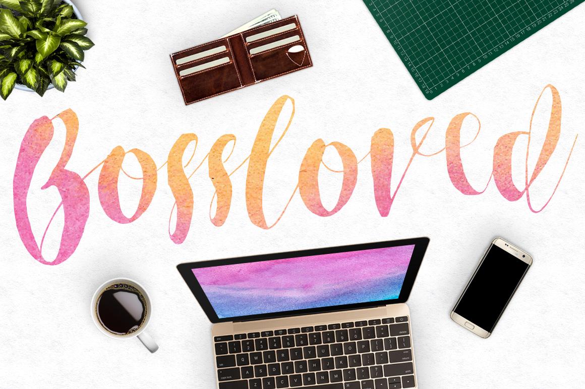Roselowe Typeface example image 2