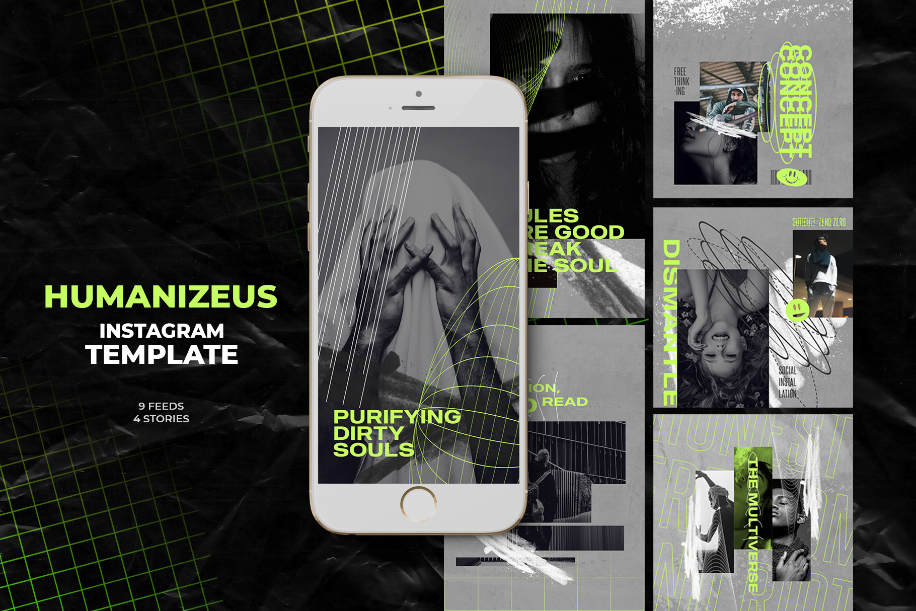 Humanizeus Instagram Templates example image 1