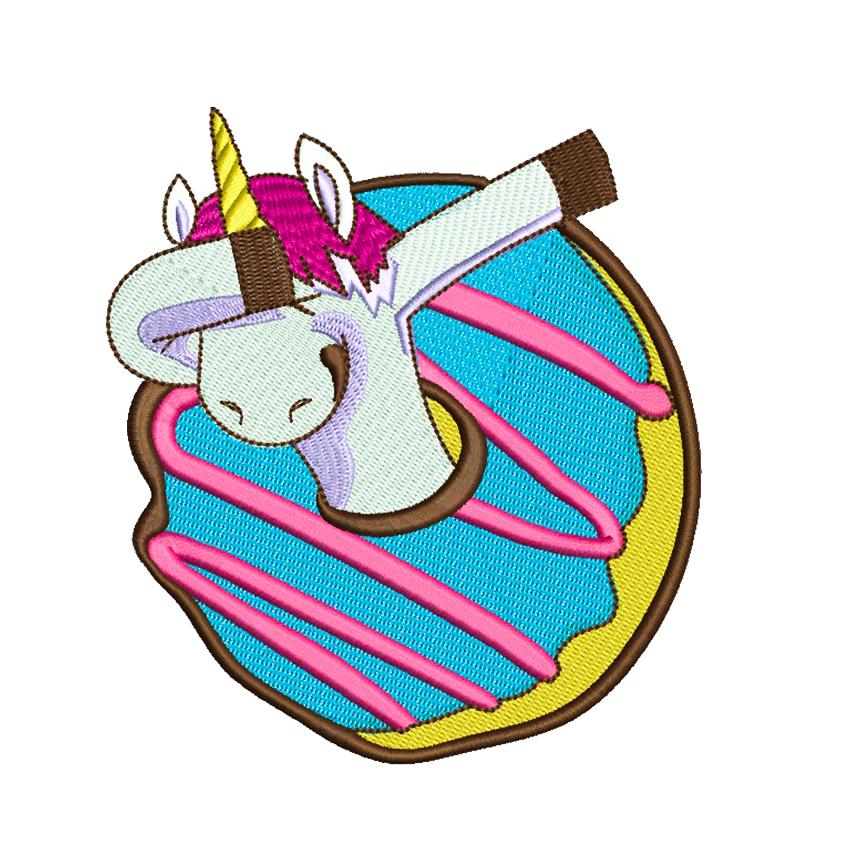 9 Unicorn Machine Embroidery Designs example image 5