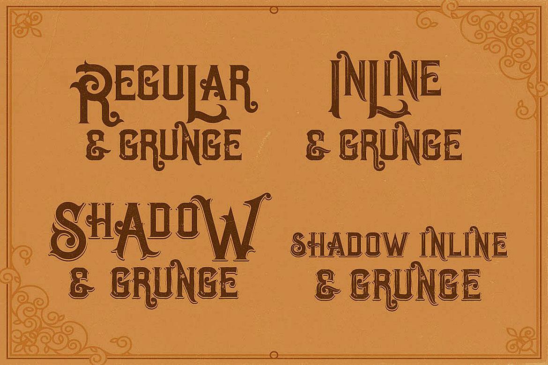 Opera Vintage Typeface example image 2