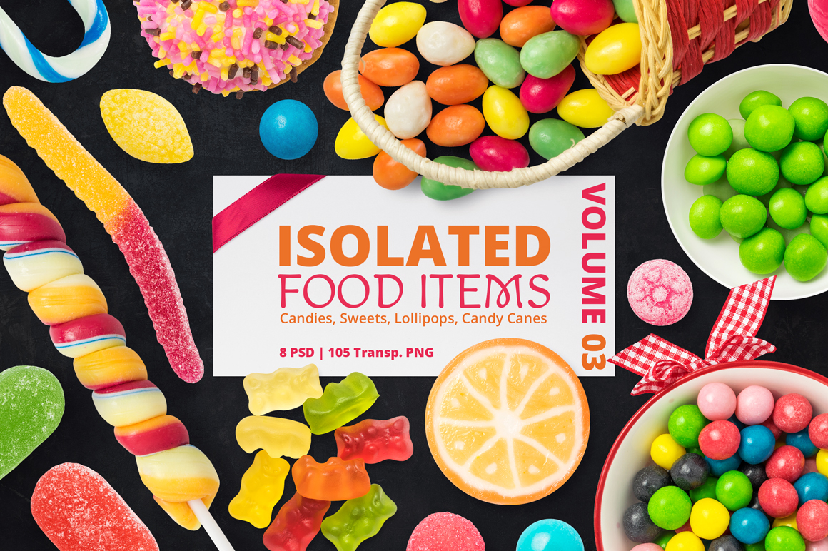 Isolated Food Items Vol.3 example image 1