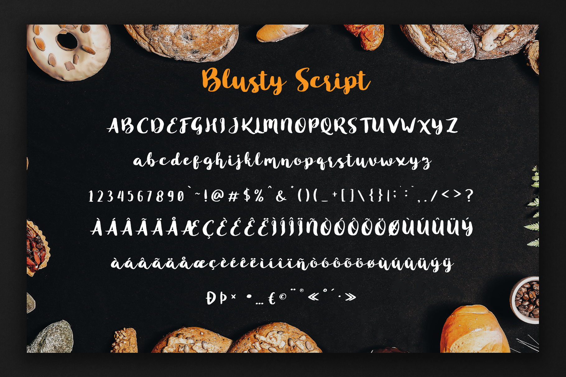 Blusty Font Duo example image 7
