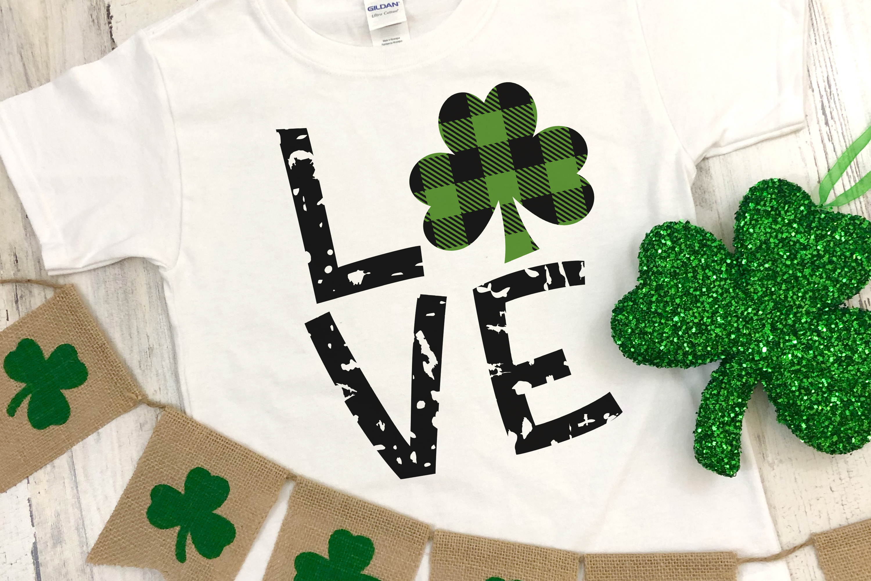 Buffalo Plaid St Patrick's Day Bundle - A Lucky Little Set example image 4