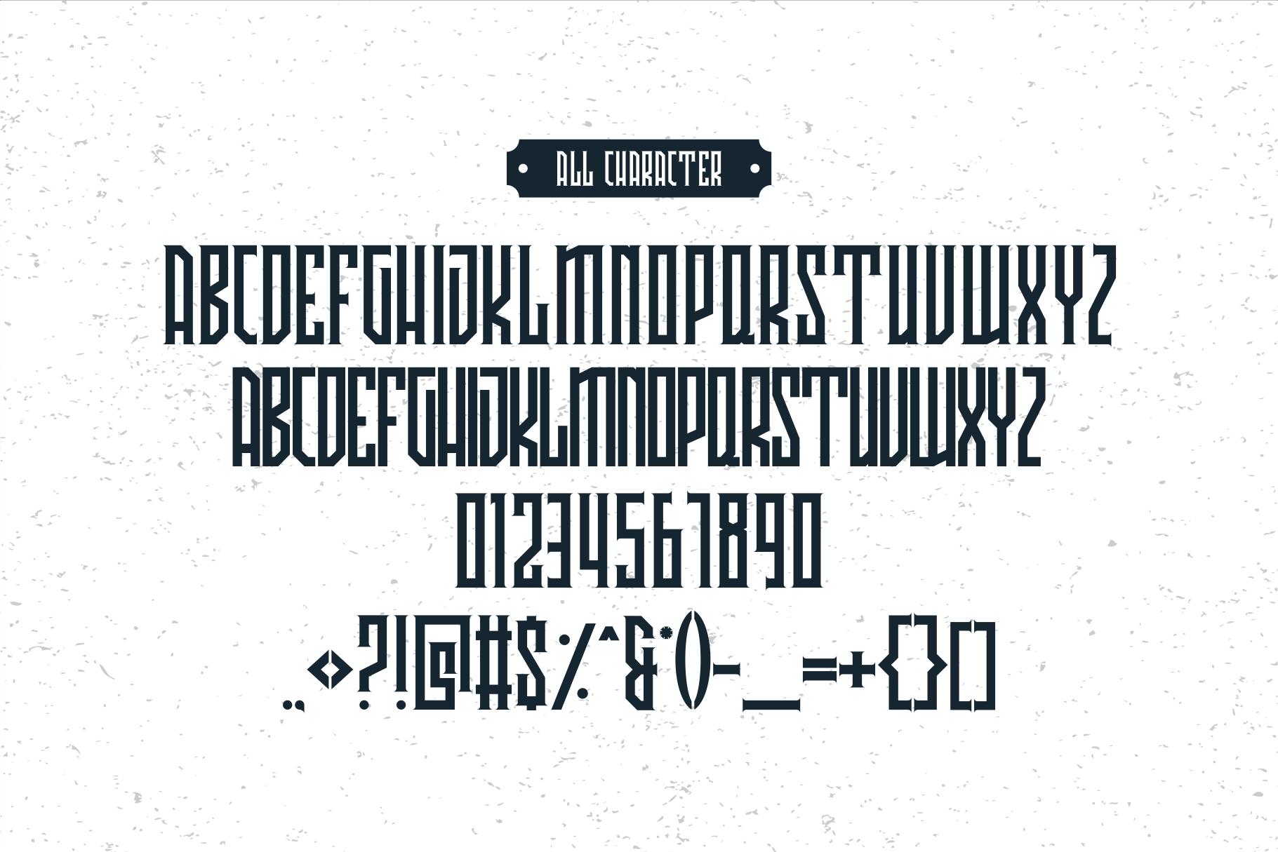 Avriella Display Font example image 6